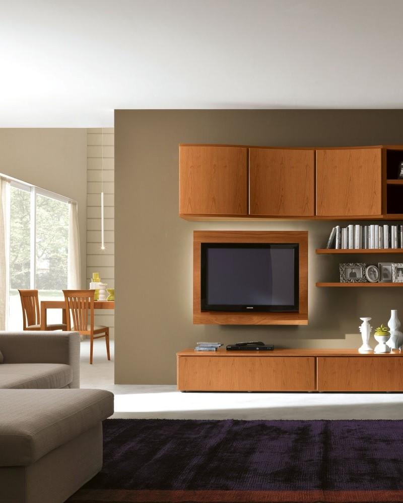 Napol soggiorno in legno di ciliegio mobilificio 2000 for Piccoli mobili per soggiorno