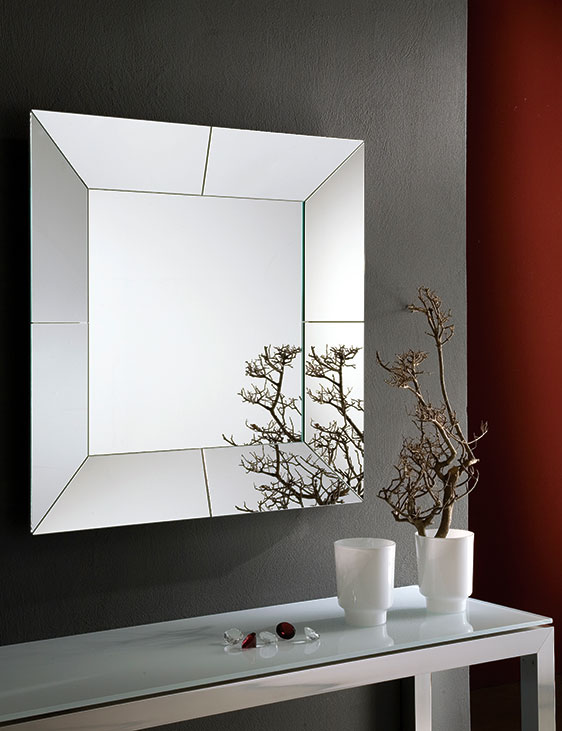 Riflessi cube mobilificio 2000 rieti - Specchi da soggiorno ...
